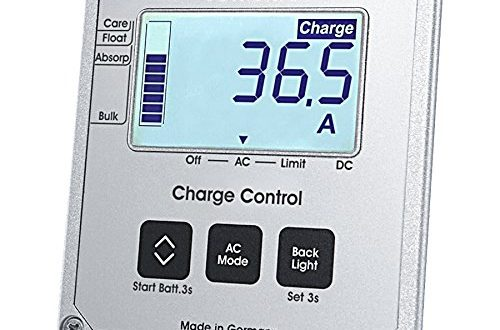 Votronic LCD Charge Control S 500x330 - Votronic LCD-Charge Control S